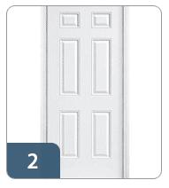 6 Panel Door Style