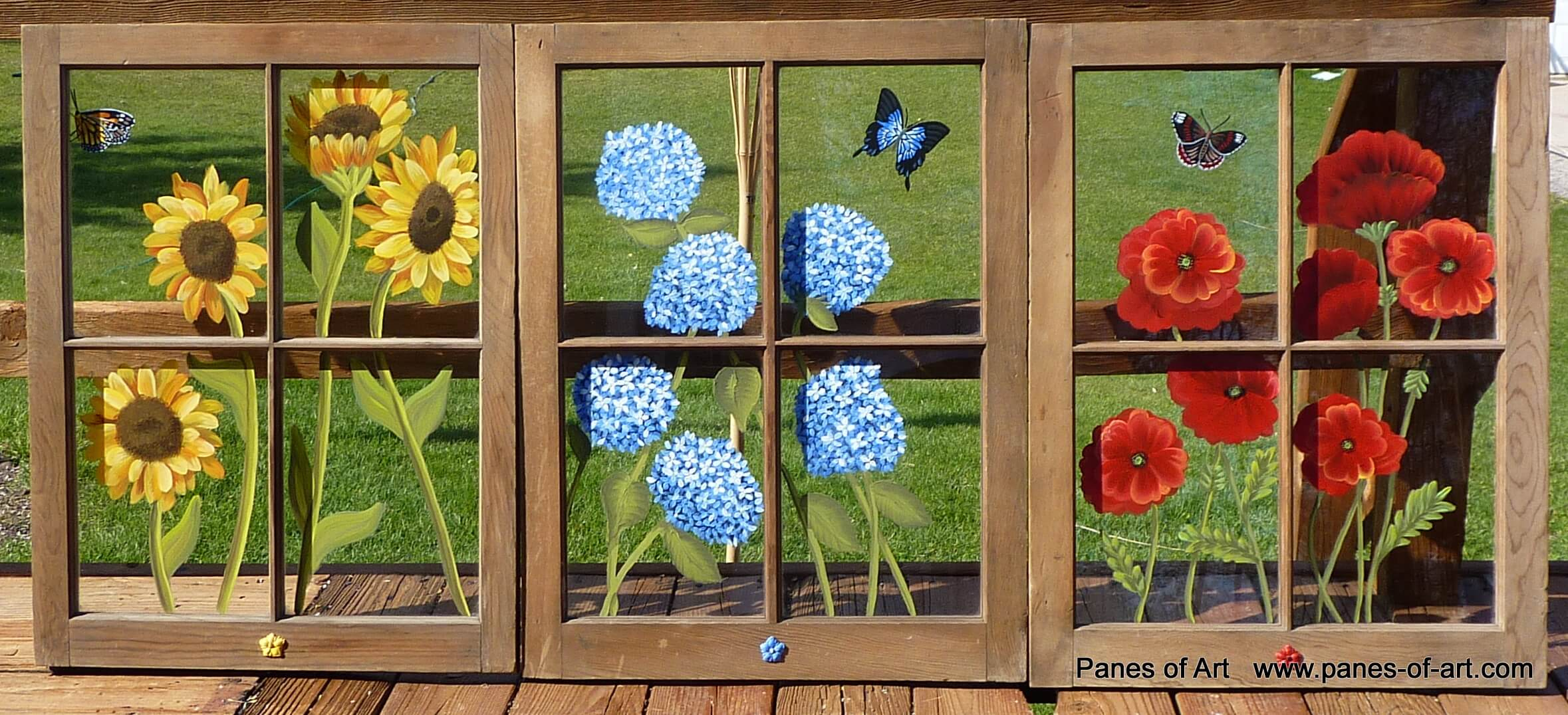 How To Make Painted Window Panes