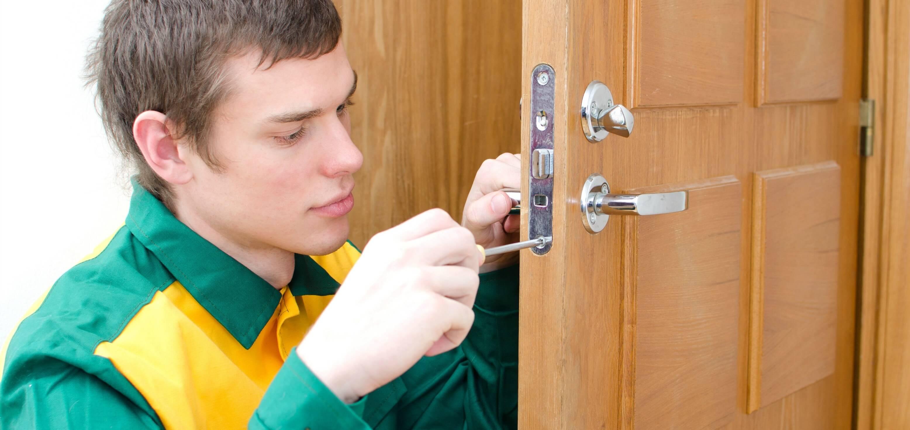install a door